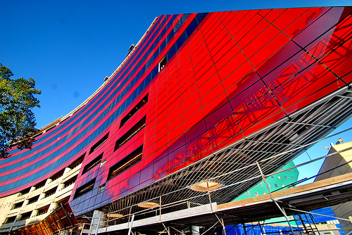 Pacific Design Center- under red building